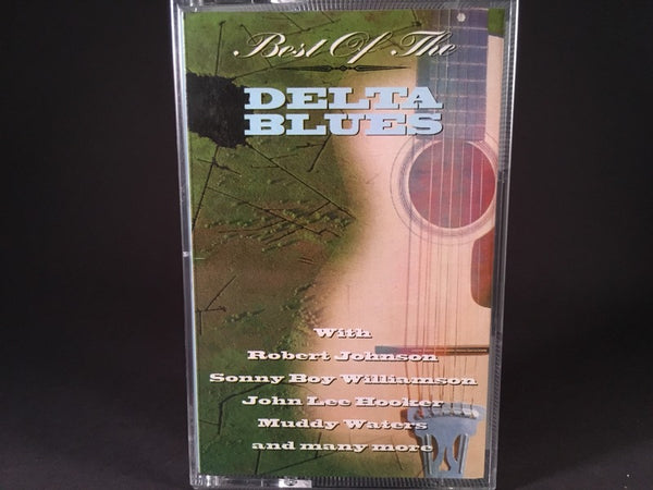 BEST OF THE DELTA BLUES - various artists - BRAND NEW CASSETTE TAPE - blues