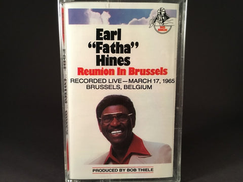 "Earl ""Fatha"" Hines - Reunion In Brussels - BRAND NEW CASSETTE TAPE"