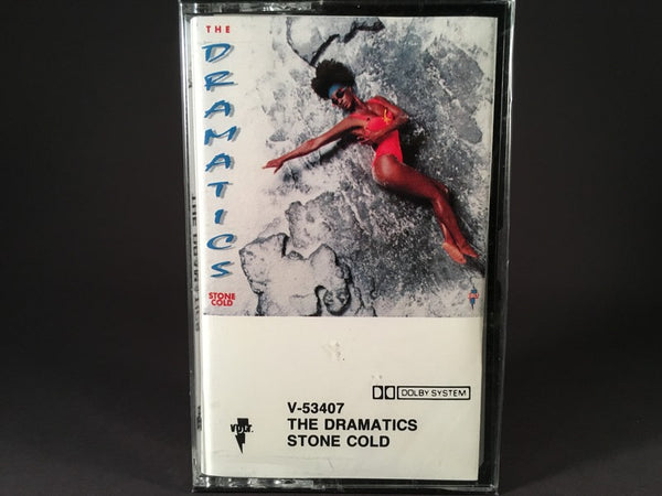 The Dramatics - Stone Cold - BRAND NEW CASSETTE TAPE - funk