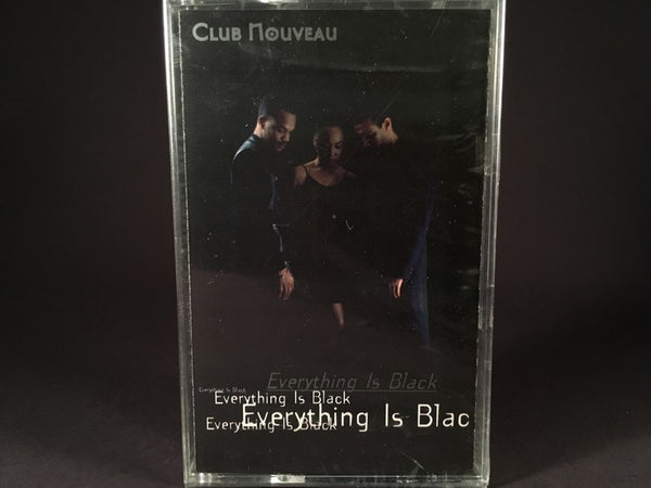 Club Nouveau - Everything Is Black - BRAND NEW CASSETTE TAPE - funk
