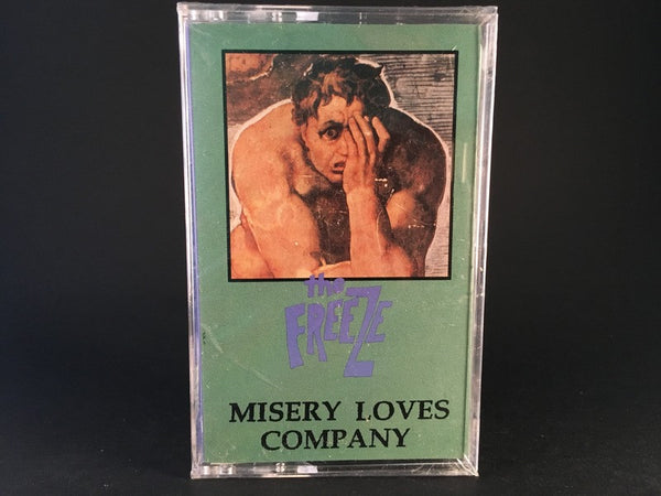 THE FREEZE - misery loves company - BRAND NEW CASSETTE TAPE