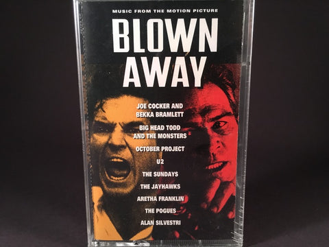 Blown Away (Music From The Motion Picture) - various artists - BRAND NEW CASSETTE TAPE - [U2, big head todd, pogues]
