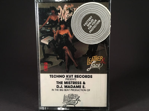 The Mistress & D.J. Madame E - Leather & Lace - BRAND NEW CASSETTE TAPE - electro