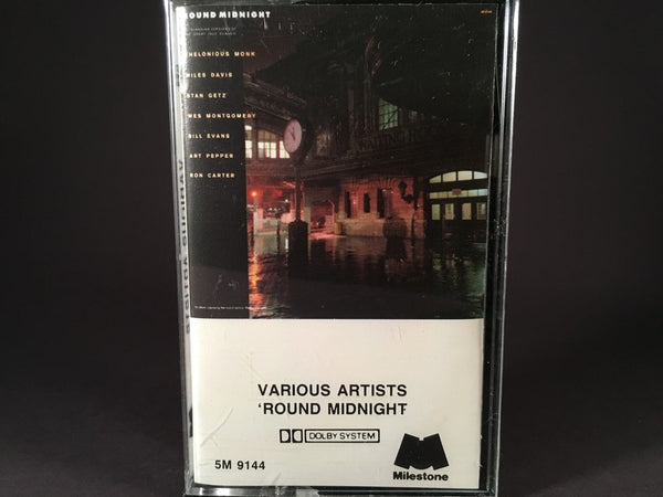 ROUND MIDNIGHT - various artists - BRAND NEW CASSETTE TAPE - jazz