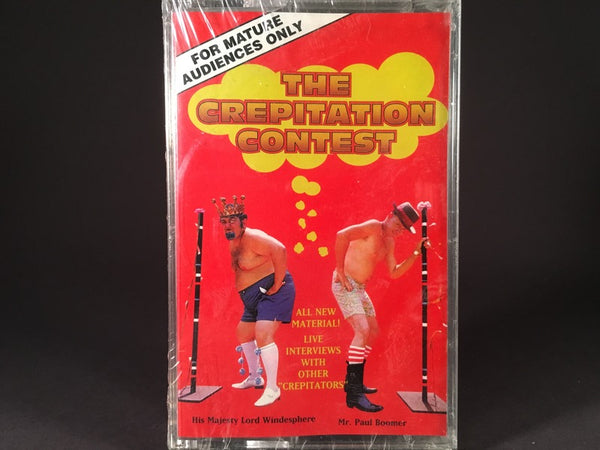 "Robert Wotherspoon - The Return Of The Crepitation Contest (""Championship Re-Match"") - BRAND NEW CASSETTE TAPE"