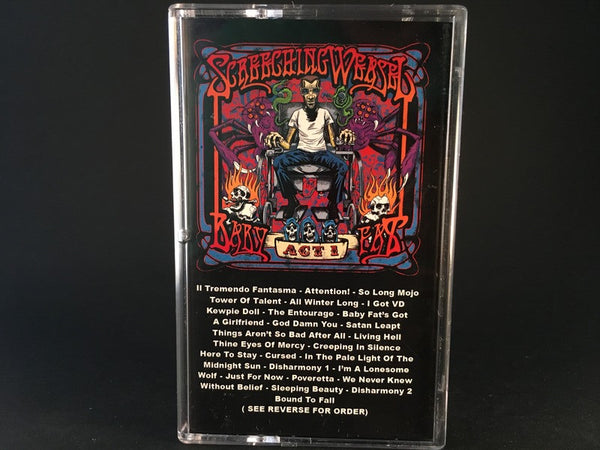 SCREECHING WEASEL - baby fat ACT 1 - BRAND NEW CASSETTE TAPE punk