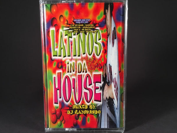 Latinos In Da House - various artists - BRAND NEW CASSETTE TAPE - EDM
