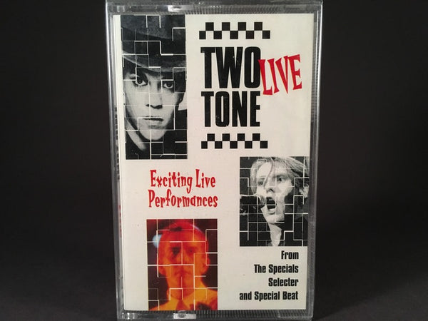 Two Tone Live - compilation - BRAND NEW CASSETTE TAPE - The Specials, The Selecter, Special Beat