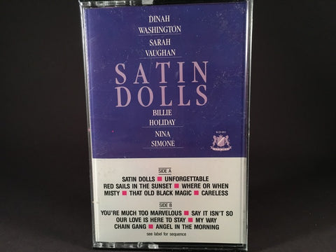 SATIN DOLLS - various artists - BRAND NEW CASSETTE TAPE - vocals [SALE]