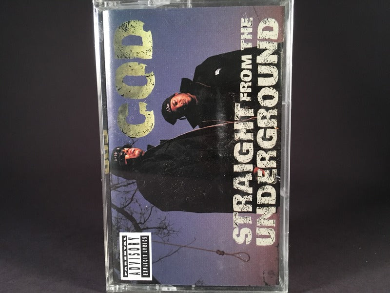 C.O.D. - Straight From The Underground - BRAND NEW CASSETTE TAPE - gangsta