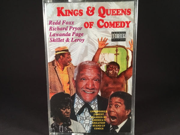 KINGS & QUEENS OF COMEDY - various artists - BRAND NEW CASSETTE TAPE - compilations [SALE]