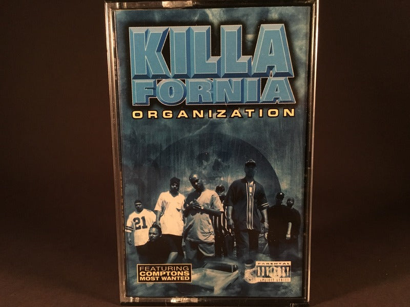 Killafornia Organization - s/t - BRAND NEW CASSETTE TAPE - gangsta