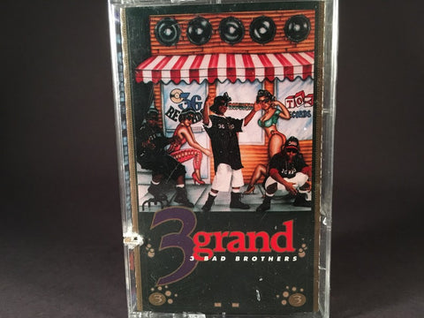 3 Grand - 3 Bad Brothers - BRAND NEW CASSETTE TAPE