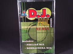 DJ PANIC presents - chihauha nortenos remix - various - BRAND NEW CASSETTE TAPE - gabber