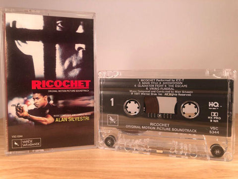 RICOCHET - soundtrack - CASSETTE TAPE