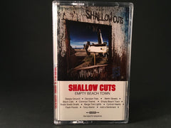 SHALLOW CUTS - empty beach town - BRAND NEW CASSETTE TAPE