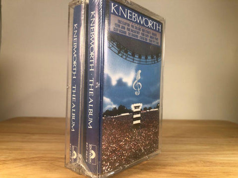 KNEBWORTH - the album [2 tape set] - BRAND NEW CASSETTE TAPES