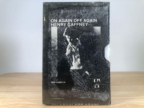 HENRY GAFFNEY - on again off again [slide case] - BRAND NEW CASSETTE TAPE