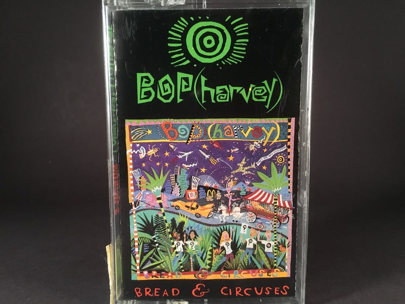 BOP (HARVEY) - bread & circuses - BRAND NEW CASSETTE TAPE