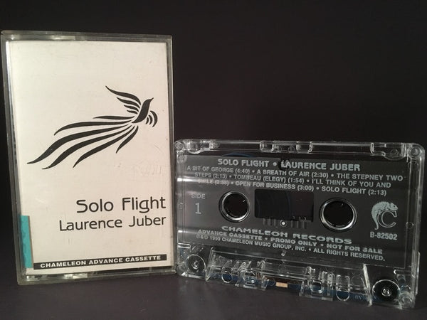SOLO FLIGHT - laurence juber (advance copy) - CASSETTE TAPE