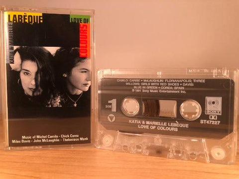 KATIA & MARIELLE LEBEQUE - love of colors - CASSETTE TAPE