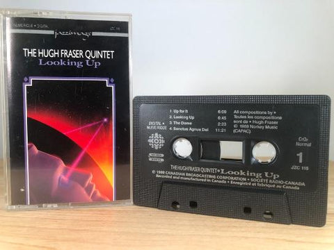 THE HUGH FRASER QUINET - looking up - CASSETTE TAPE