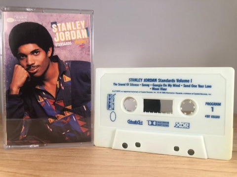 STANLEY JORDAN - standards Vol.1 - CASSETTE TAPE