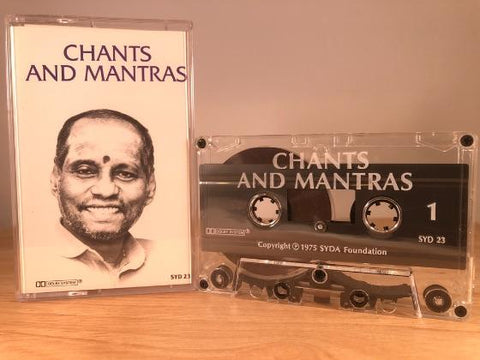 CHANTS AND MANTRAS - CASSETTE TAPE