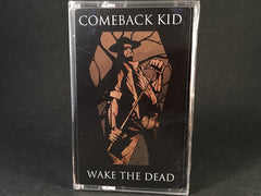 COMEBACK KID - wake the dead - BRAND NEW CASSETTE TAPE