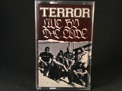 TERROR - live by the code - BRAND NEW CASSETTE TAPE