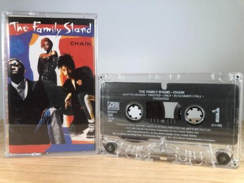 THE FAMILY STAND - chain - CASSETTE TAPE