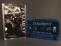 TENEMENT - bruised music - singles 2006-2009 CASSETTE-TAPE (new) punk DBR