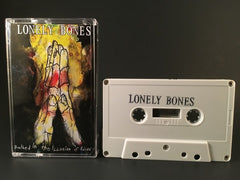 LONELY BONES - bathed in the illusion of idiocy - CASSETTE TAPE (new) hardcore