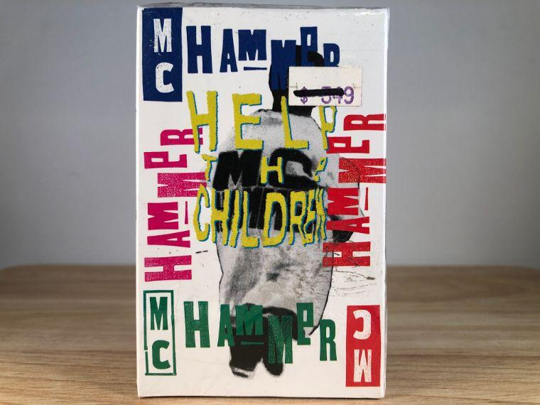 MC HAMMER - help the children [cassingle] - CASSETTE TAPE