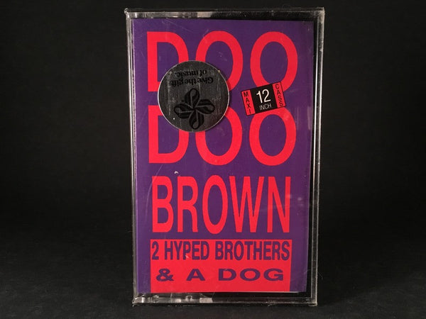 "2 HYPED BROTHERS & A DOG - doo doo brown (12"" maxi-single) BRAND NEW CASSETTE TAPE"