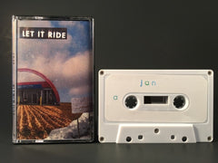 JAN - let it ride - BRAND NEW CASSETTE TAPE