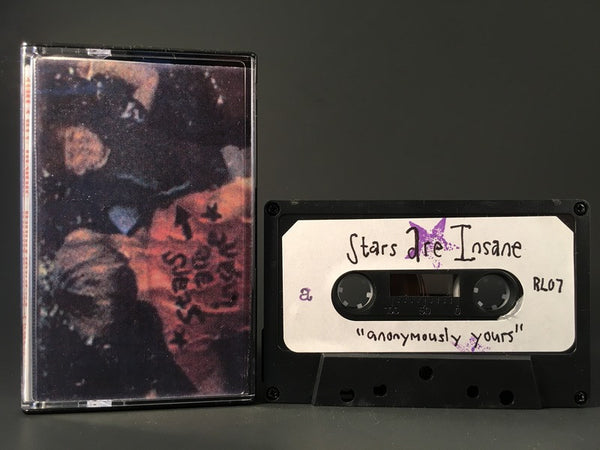 STARS ARE INSANE - anonymously yours - BRAND NEW CASSETTE TAPE