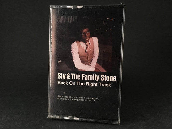 SLY & THE FAMILY STONE - back on the right track - BRAND NEW SEALED CASSETTE TAPE