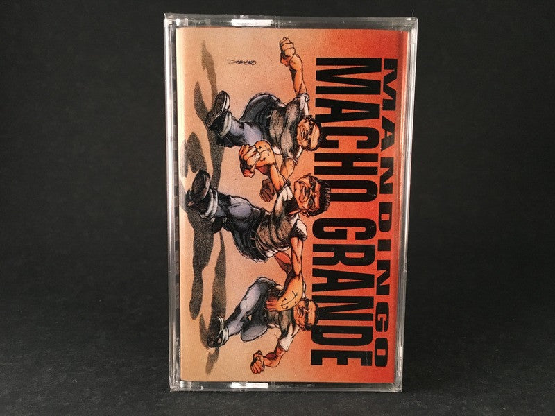 MAN DINGO - macho grande - BRAND NEW SEALED CASSETTE TAPE