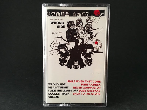 TODD C - wrong side - CASSETTE TAPE