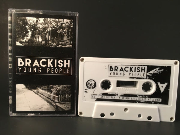 BRACKISH - young people - CASSETTE TAPE punk