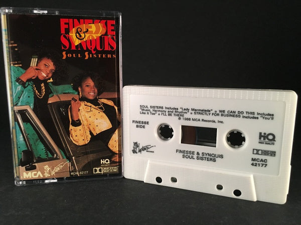 FINESSE & SYNQUIS - soul sisters - CASSETTE TAPE