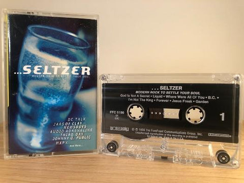 …SELTZER 'MODERN ROCK TO SETTLE YOUR SOUL- various artists - CASSETTE TAPE