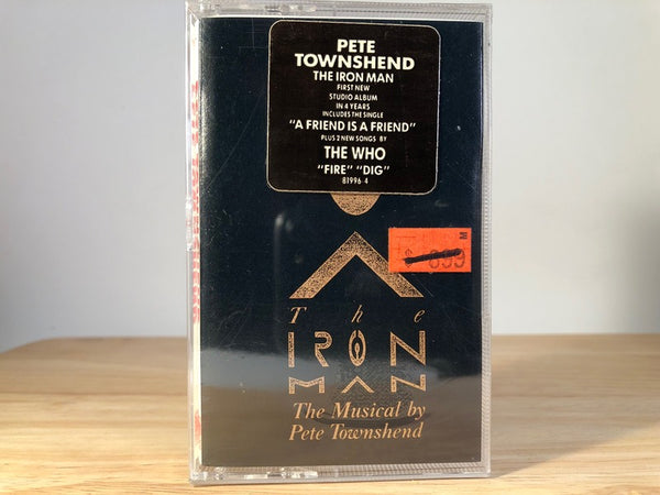 THE IRON MAN MUSICAL - by pete townshend - BRAND NEW CASSETTE TAPE