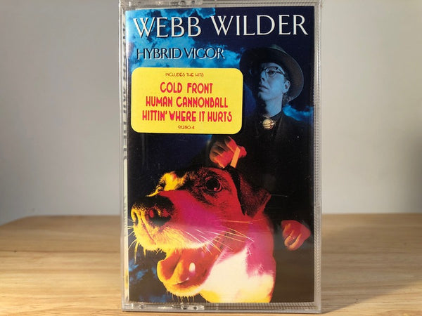 WEBB WILDER - hybrid vigor - BRAND NEW CASSETTE TAPE