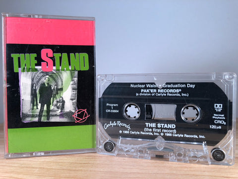THE STAND - the first record - CASSETTE TAPE
