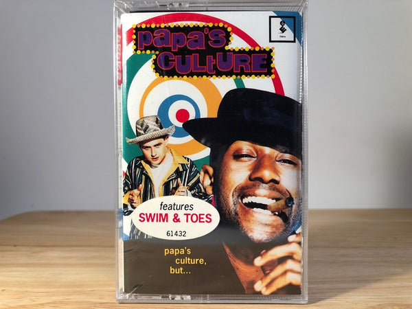 PAPAS CULTURE - papas culture but - BRAND NEW CASSETTE TAPE