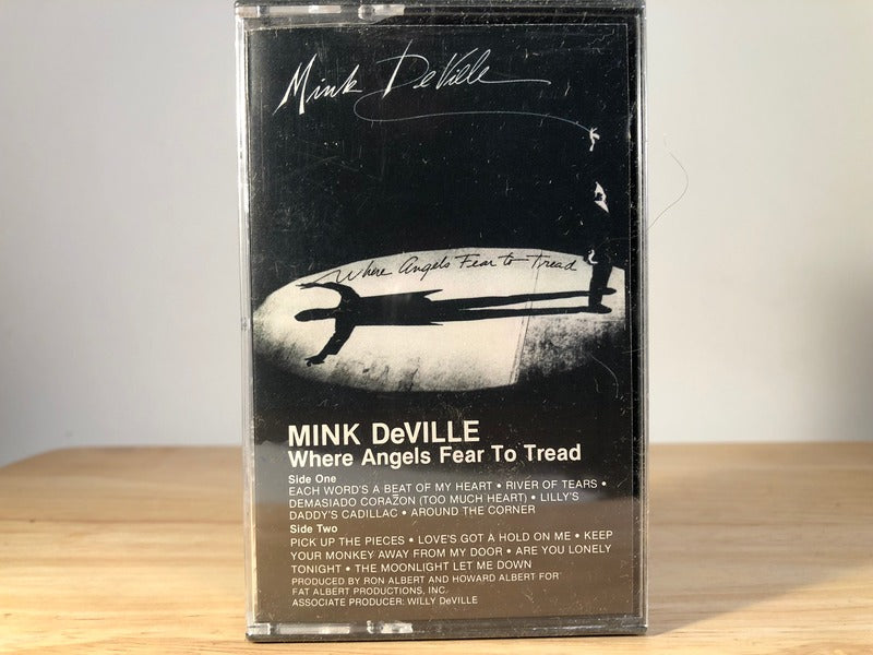 MINK DeVILLE - where angels fear to tread - BRAND NEW CASSETTE TAPE