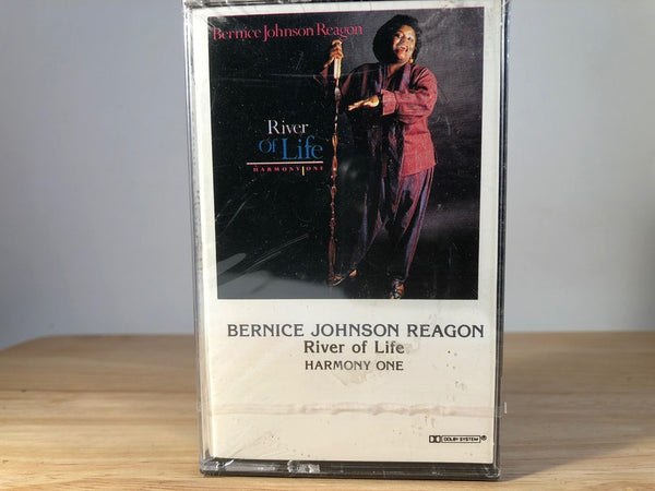 BERNICE JOHNSON REAGON - river of life - BRAND NEW CASSETTE TAPE