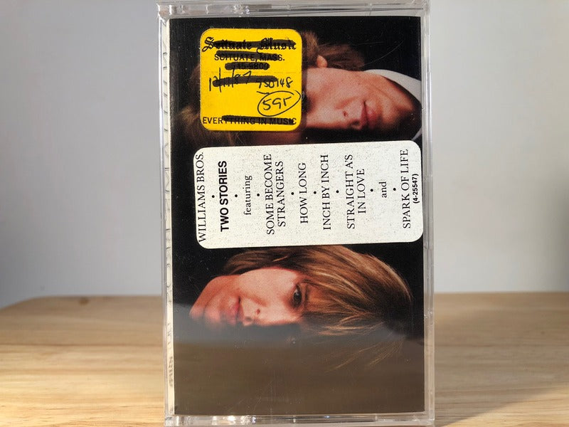 WILLIAMS BROS - two stories - BRAND NEW CASSETTE TAPE